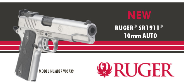 New Ruger V06739 Slider